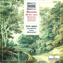 Horn Trio - CD Audio di Johannes Brahms