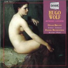 Morike Lieder - CD Audio di Hugo Wolf