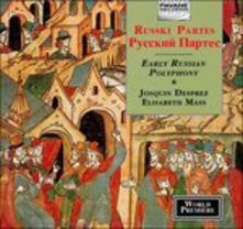 Early Russian Polyphony - CD Audio di Josquin Desprez