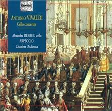 Cello Concertos - CD Audio di Antonio Vivaldi