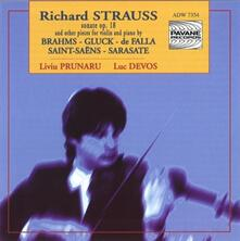 Sonata for Violin & Piano - CD Audio di Richard Strauss