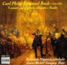 5 Sonate per Cembalo Obli - CD Audio di Carl Philipp Emanuel Bach