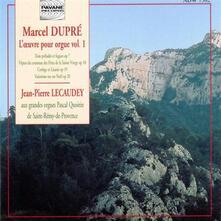 Complete Organ Works Vol - CD Audio di Marcel Dupré