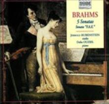 Sonate 5 - CD Audio di Johannes Brahms