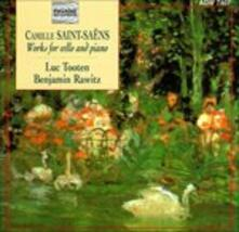 Works for Cello & Piano - CD Audio di Camille Saint-Saëns