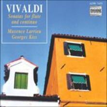 Sonate for Flute - CD Audio di Antonio Vivaldi