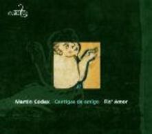 Cantigas de Amigo - CD Audio di Martin Codax