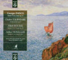 Sonate per violino - CD Audio di Arthur Honegger,George Enescu,Albert Roussel,Charles Tournemire