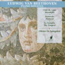 Sonate per pianoforte n.14, n.15, n.17 - CD Audio di Ludwig van Beethoven