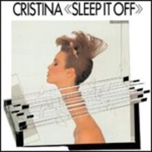 Sleep it Off - CD Audio di Cristina
