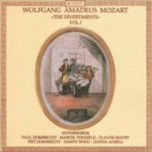 Divertimenti for Oboe 1 - CD Audio di Wolfgang Amadeus Mozart