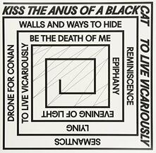 To Live Vicariously - Vinile LP di Kiss the Anus of a Black Cat