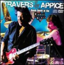 Boom Boom at the House of Blues - CD Audio + DVD di Pat Travers,Carmine Appice
