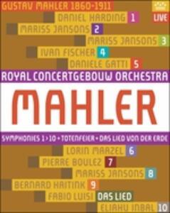 Gustav Mahler. Le 10 sinfonie. Da Lied von der Erde (10 Blu-ray) - Blu-ray