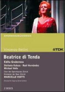 Vincenzo Bellini. Beatrice di Tenda (2 DVD) di Daniel Schmid - DVD