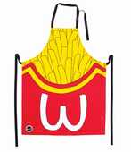 Idee regalo Grembiule Patatine Fritte. Frites Apron Woouf