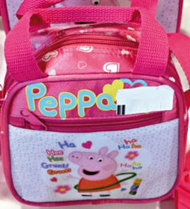 Cartoleria Borsa Tracolla Peppa Pig Toys Market