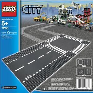 LEGO City (7280). Rettilineo e incrocio