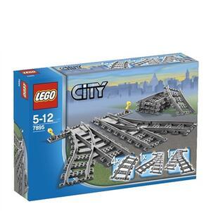 LEGO City (7895). Scambi per la ferrovia
