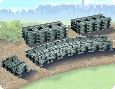 LEGO City (7499). Binari flessibili - 4