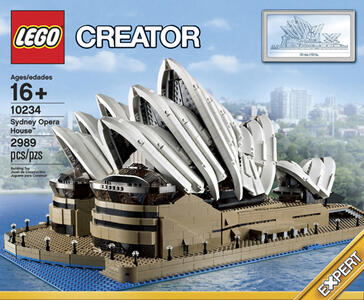 LEGO Creator (10234). Opera House di Sydney
