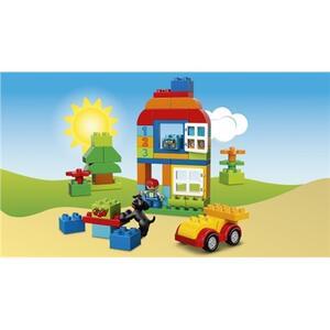 LEGO Duplo (10572). Scatola costruzioni 65 pezzi verde - 5