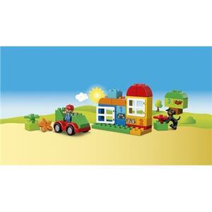 LEGO Duplo (10572). Scatola costruzioni 65 pezzi verde - 6