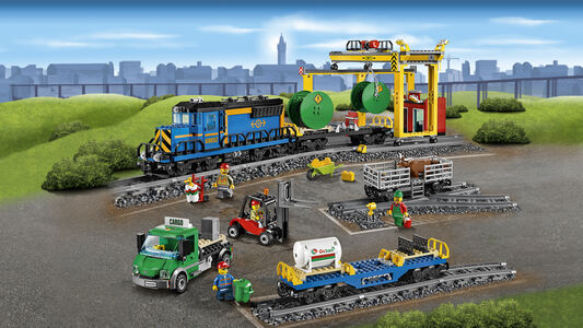 Giocattolo Lego City. Treno merci (60052) Lego 2