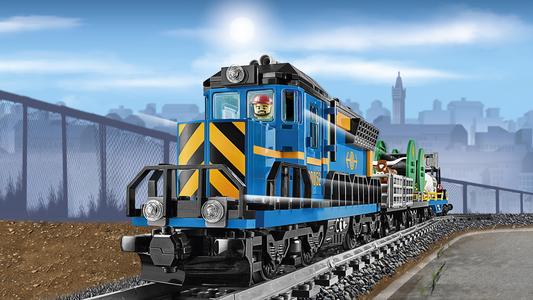 Giocattolo Lego City. Treno merci (60052) Lego 6