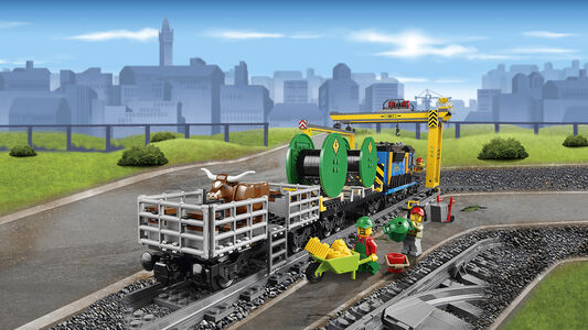 Giocattolo Lego City. Treno merci (60052) Lego 8