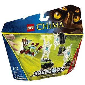 LEGO Chima (70138). Slalom fra le ragnatele