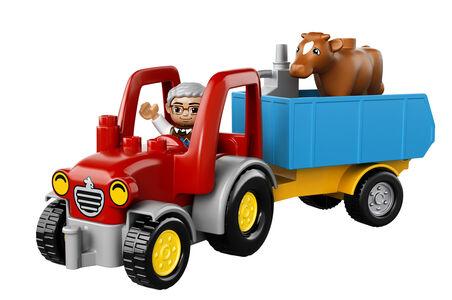 Giocattolo Lego Duplo. Il trattore (10524) Lego 8