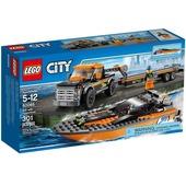 Lego City. 4x4 trasporta motoscafo (60085)