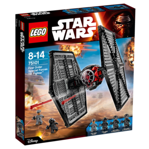 Giocattolo Lego Star Wars. First Order Special Forces TIE Fighter (75101) Lego 0