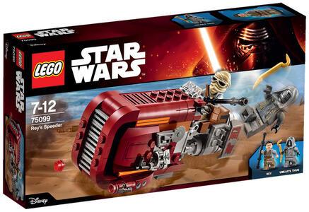 LEGO Star Wars (75099). Speeder di Rey