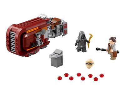 LEGO Star Wars (75099). Speeder di Rey - 5