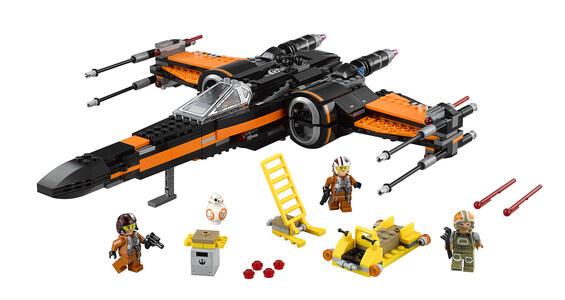 LEGO Star Wars (75102). X-Wing di Poe - 8