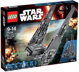 LEGO Star Wars (75104). Kylo's Ren Command Shuttle - 2