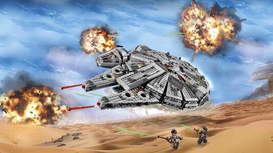 LEGO Star Wars (75105). New Millennium Falcon - 9