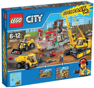 Super Pack Lego City (66521)