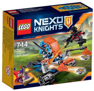 LEGO Nexo Knights (70310). Blaster da battaglia di Knighton