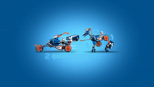 LEGO Nexo Knights (70312). Il cavallo meccanico di Lance - 8