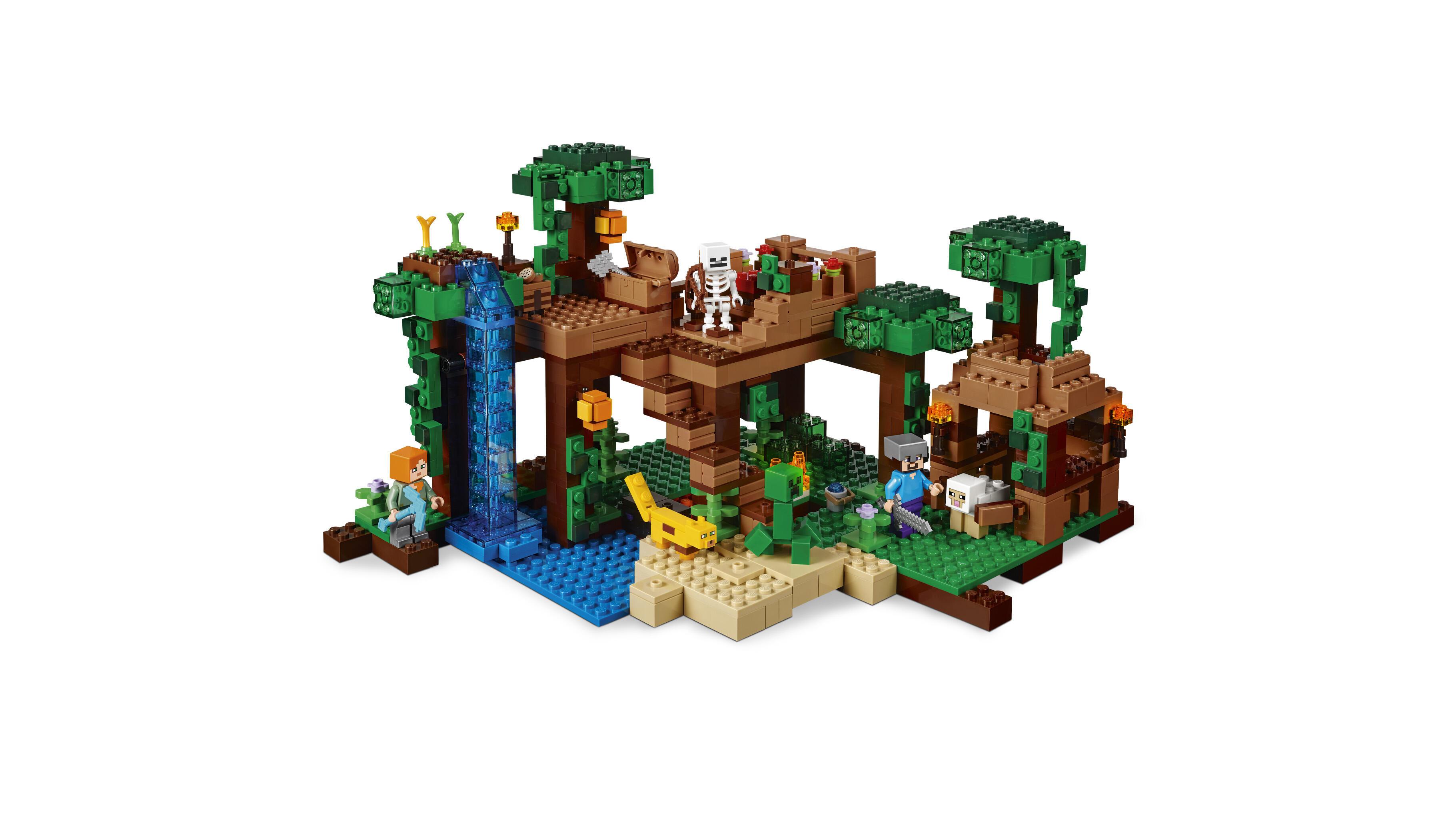 Lego minecraft 21125 la casetta sull 39 albero della for Minecraft da colorare
