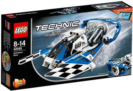 LEGO Technic (42045). Idroplano da corsa - 2