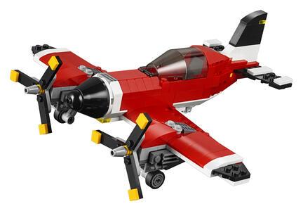 LEGO Creator (31047). Aereo a elica - 5