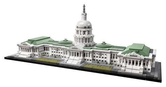 LEGO Architecture (21030). Campidoglio Washington - 4