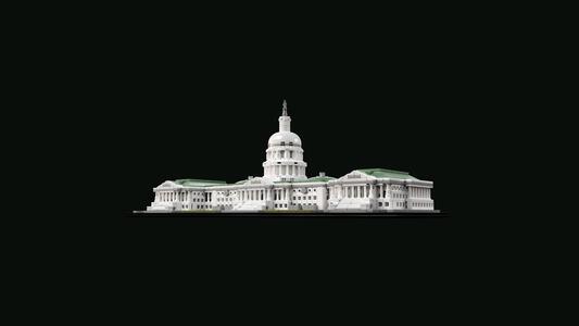 LEGO Architecture (21030). Campidoglio Washington - 7