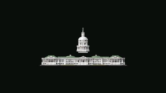 LEGO Architecture (21030). Campidoglio Washington - 8