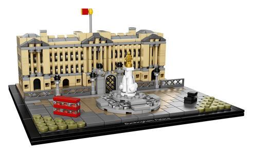 LEGO Architecture (21029). Buckingham Palace - 7