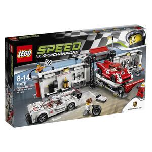 LEGO Speed Champions (75876). Porsche 919 Hybrid e 917K Pit Lane